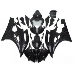 Black Motorcycle Fairings For 2006-2007 Yamaha YZF-R6