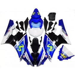 Blue & White Movistar Motorcycle Fairings For 2006-2007 Yamaha YZF-R6