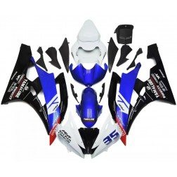 Blue, Black & White Motorcycle Fairings For 2006-2007 Yamaha YZF-R6
