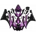 Purple & Black Motorcycle Fairings For 2006-20...