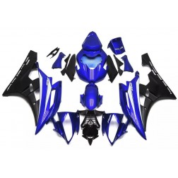 Blue & Black Motorcycle Fairings For 2006-2007 Yamaha YZF-R6