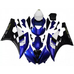 Blue & Flat Black Motorcycle Fairings For 2006-2007 Yamaha YZF-R6