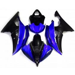 Blue & Matte Black Motorcycle Fairings For 2008-2016 Yamaha YZF-R6