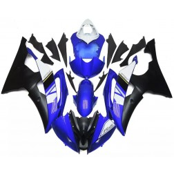 Blue & Black Motorcycle Fairings For 2008-2016 Yamaha YZF-R6