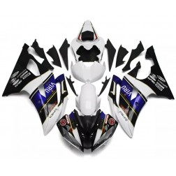 Black, White & Blue Motorcycle Fairings For 2008-2016 Yamaha YZF-R6