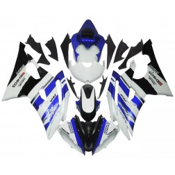 Black, Blue & White Motorcycle Fairings For 2008-2016 Yamaha YZF-R6