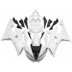 Black & White Motorcycle Fairings For 2008-2016 Yamaha YZF-R6