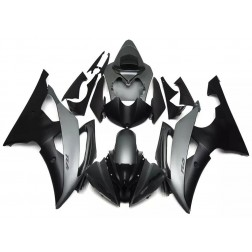 Black & Gray Motorcycle Fairings For 2008-2016 Yamaha YZF-R6