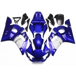 Blue & White Motorcycle Fairings For 1998-2002 Yamaha YZF-R6