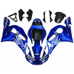 Blue Motorcycle Fairings For 1998-2002 Yamaha YZF-R6