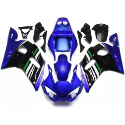 Blue & Black Motorcycle Fairings For 1998-2002 Yamaha YZF-R6