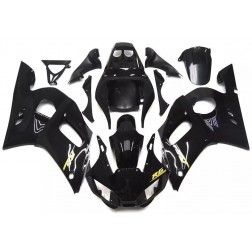 Gloss Black Motorcycle Fairings For 1998-2002 Yamaha YZF-R6